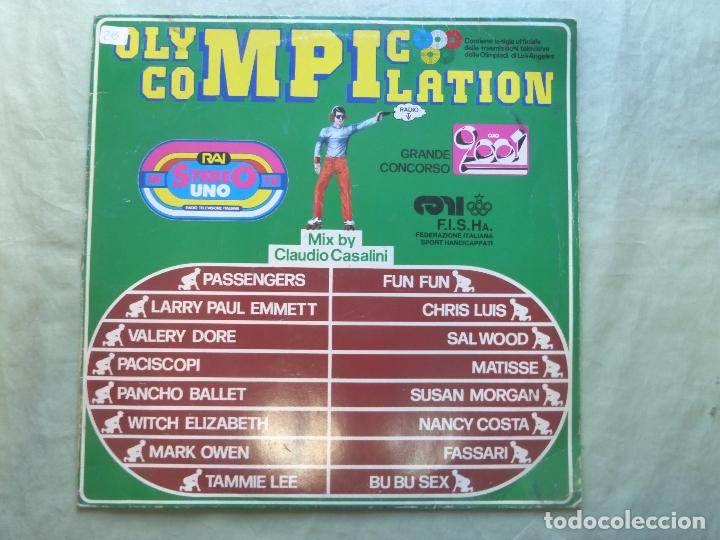 OLYMPIC COMPILATION. MIX BY CLAUDIO CASALINI. BEST RECORD, 1984. LP VINILO (Música - Discos - LP Vinilo - Techno, Trance y House)