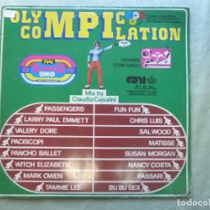 Discos de vinilo: OLYMPIC COMPILATION. MIX BY CLAUDIO CASALINI. BEST RECORD, 1984. LP VINILO. Lote 96626527