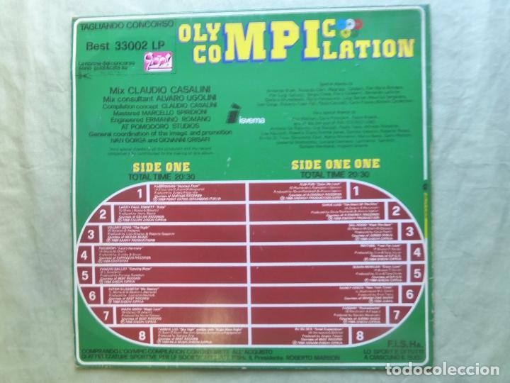Discos de vinilo: OLYMPIC COMPILATION. MIX BY CLAUDIO CASALINI. BEST RECORD, 1984. LP VINILO - Foto 2 - 96626527