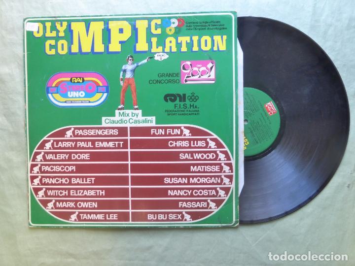 Discos de vinilo: OLYMPIC COMPILATION. MIX BY CLAUDIO CASALINI. BEST RECORD, 1984. LP VINILO - Foto 3 - 96626527