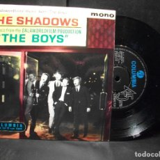 Discos de vinilo: THE SHADOWS THE BOYS + 3 EP UK 1962 PDELUXE. Lote 96630899