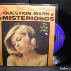 Discos de vinilo: QUESTION MARK Y LOS MISTERIOSOS 96 LAGRIMAS + 3 EP MEJICO PDELUXE. Lote 96631211