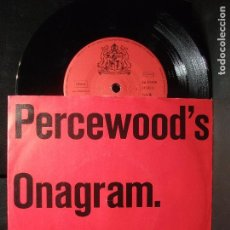 Discos de vinilo: PERCEWOOD'S ONAGRAN 4 A - SIDES EP GERMANY 1984 PDELUXE. Lote 96631455