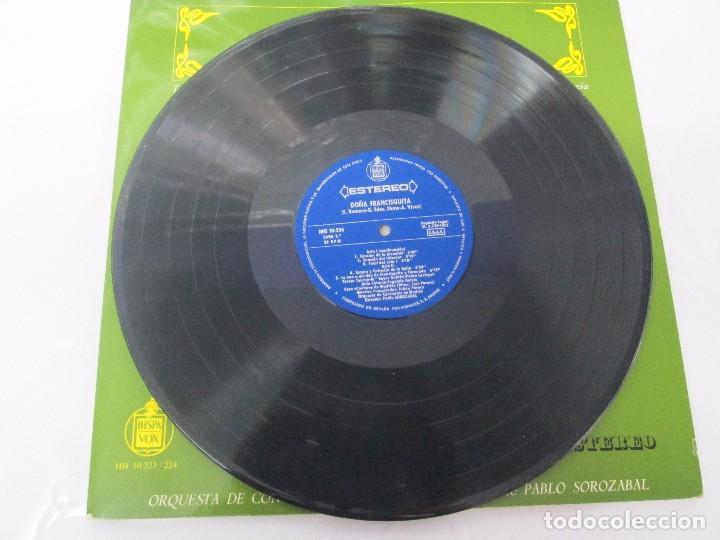 Discos de vinilo: AMADEO VIVES. DOÑA FRANCISQUITA. 2 DISCOS. LP VINILO. ZARZUELA . HISPAVOX 1963. VER FOTOGRAFIAS - Foto 9 - 96631571