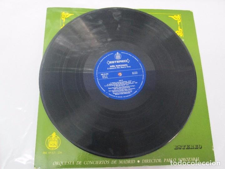 Discos de vinilo: AMADEO VIVES. DOÑA FRANCISQUITA. 2 DISCOS. LP VINILO. ZARZUELA . HISPAVOX 1963. VER FOTOGRAFIAS - Foto 15 - 96631571