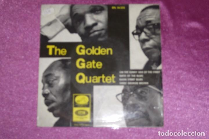 THE GOLDEN GATE QUARTET 1966 ON THE SUNNY SIDE OF THE STREET (Música - Discos - Singles Vinilo - Pop - Rock Extranjero de los 50 y 60)