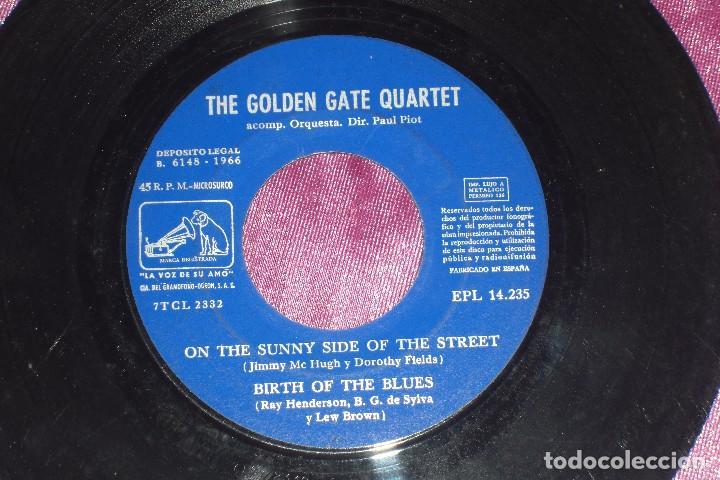 Discos de vinilo: THE GOLDEN GATE QUARTET 1966 ON THE SUNNY SIDE OF THE STREET - Foto 4 - 96653707