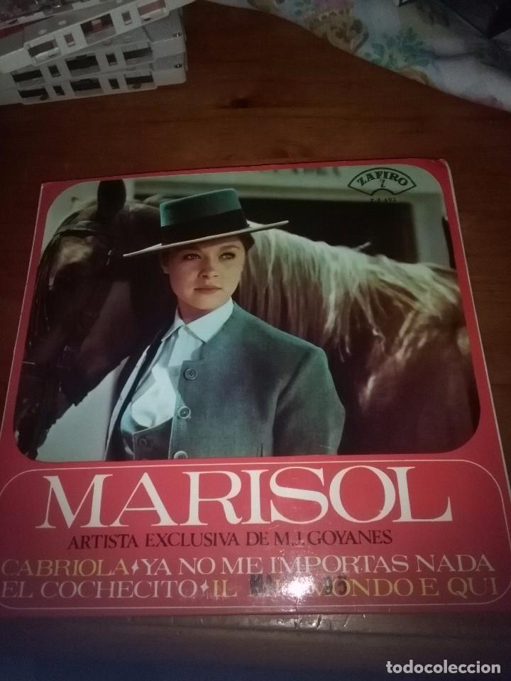 MARISOL. ARTISTA EXCLUSIVA DE M. J. GOYANES. MB2 (Música - Discos de Vinilo - EPs - Flamenco, Canción española y Cuplé)