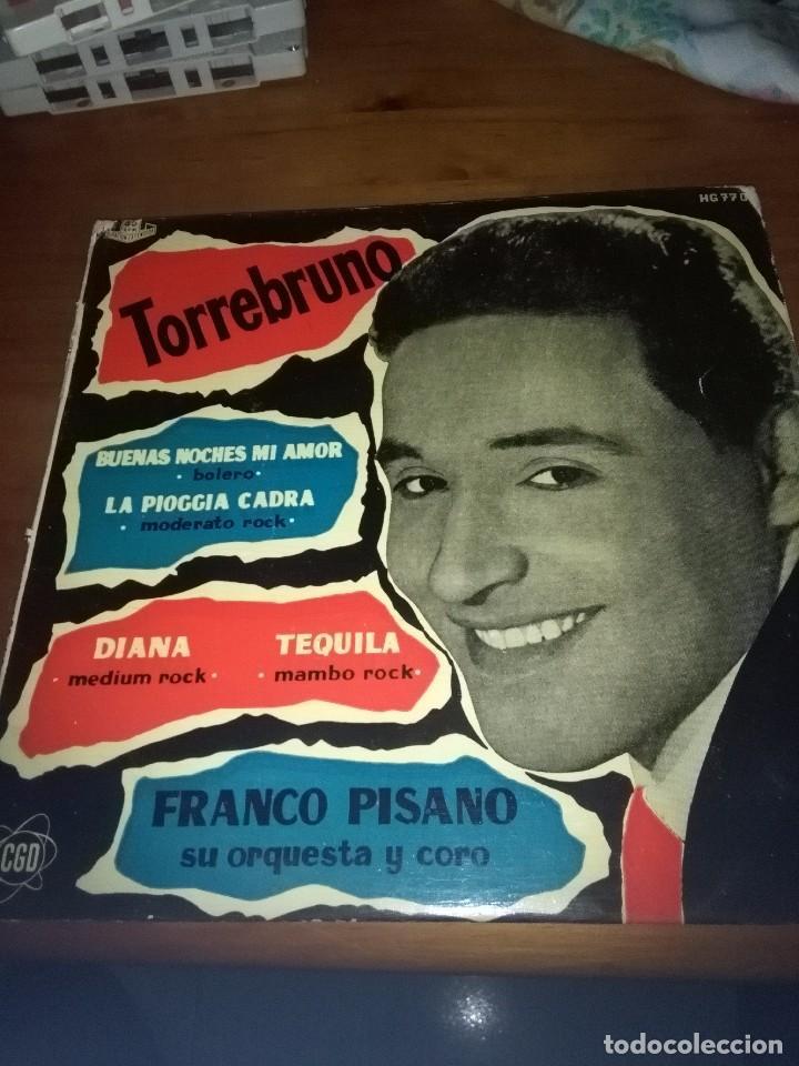 TORREBRUNO. BUENAS NOCHES MI AMOR. . MB2 (Música - Discos de Vinilo - EPs - Flamenco, Canción española y Cuplé)