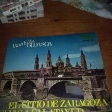 Discos de vinilo: RONDALLA BIDASOA. EL SITIO DE ZARAGOZA. MB2. Lote 96665063