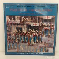 Discos de vinilo: PAQUITO EL CHOCOLATERO - ALCOY. Lote 96664447