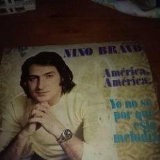 Discos de vinilo: NINO BRAVO. AMÉRICA AMÉRICA. MB2. Lote 96667243