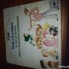 Discos de vinilo: TELEVICENTES. EL DIA SE ACABO. DIOS Y NOSOTROS QUEREMOS. MB1. Lote 96668303