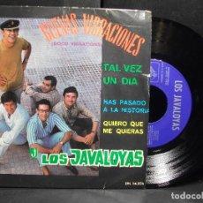 Discos de vinilo: LOS JAVALOYAS BUENAS VIBRACIONES + 3 EP SPAIN 1967 PDELUXE. Lote 96668483