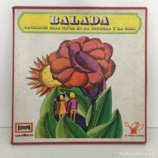Discos de vinilo: BALADA - CANCIONES PARA NIÑOS - SANTILLANA. Lote 96672716