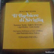 Discos de vinilo: LP ROSSINI. IL BARBIERI DI SIVIGLIA. ESTUCHE 3 LP´S . Lote 96674155