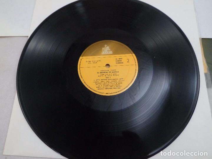 Discos de vinilo: LP ROSSINI. IL BARBIERI DI SIVIGLIA. ESTUCHE 3 LP´S - Foto 4 - 96674155