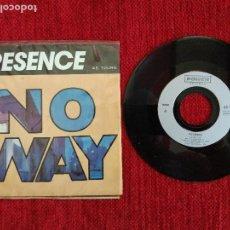 Discos de vinilo: PRESENCE+ NO WAY. Lote 96692419