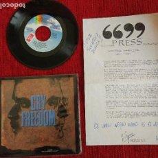 Discos de vinilo: CRY FREEDOM+ ORIGINAL BSO+ HOJA PROMO. Lote 96692955
