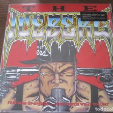 Discos de vinilo: ICE-T - THE ICEBERG / FREEDOM OF SPEECH... (1989) - LP REEDICIÓN MUSIC ON VINYL NUEVO. Lote 96697423