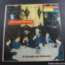 Discos de vinilo: LP MANUEL BERNAL EL MEJOR RECITADOR DE AMERICA, EL BRINDIS DEL BOHEMIO, RCA VICTOR LPVC-133. Lote 96697591