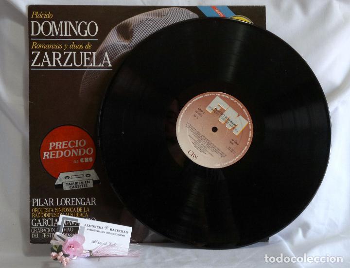 Discos de vinilo: 1985.- Plácido Domingo.- Romanzas Y Dúos De Zarzuela.- Grabación en vivo del festival de Salburgo. - Foto 5 - 96717103