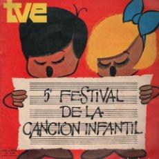 Discos de vinilo: 5º FESTIVAL DE LA CANCION INFANTIL - LP. Lote 96718859