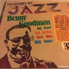 Discos de vinilo: BENNY GOODMAN. LOS GRANDES DEL JAZZ, 38, GRAN ENCICLOPEDIA DEL JAZZ, SARPE 1981. Lote 96721679