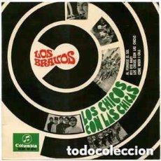 Discos de vinilo: LOS BRAVOS - LOS CHICOS CON LAS CHICAS - EP SPAIN 1967. Lote 96731939