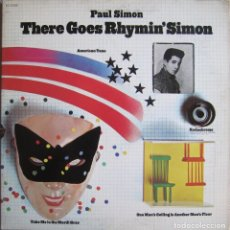 Discos de vinilo: PAUL SIMON: THERE GOES RHYMIN´ SIMON. Lote 96733023