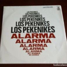 Discos de vinilo: LOS PEKENIKES - ALARMA - LP - 1969 - CON ENCARTE. Lote 96735863