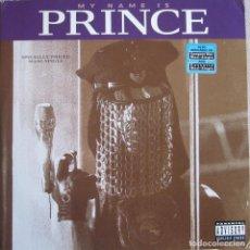 Discos de vinilo: PRINCE: MY NAME IS PRINCE (12 CLUB MIX / HOUSE MIX / ORIGINAL MIX EDIT / HARD CORE 12 MIX + 1. Lote 96736659
