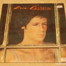 Discos de vinilo: ERIC CARMEN ( BOATS AGAINST THE CURRENT ) ENGLAND-1977 LP33 ARISTA RECORDS. Lote 96741259