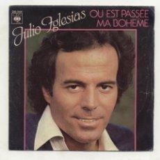Discos de vinilo: JULIO IGLESIAS CANTA EN FRANCÉS VG+. Lote 96743315