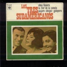Discos de vinilo: LOS 3 SUDAMERICANOS VG. Lote 96743803