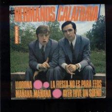 Discos de vinilo: LOS HERMANOS CALATRAVA EX/VG. Lote 96744291