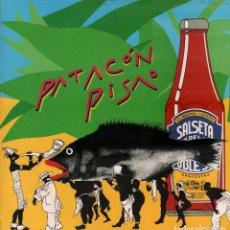 Discos de vinilo: LA SALSETA DEL POBLE SEC - PATACON PISAO / LP MAXISINGLE DE 1988 RF-3856 . Lote 96747407