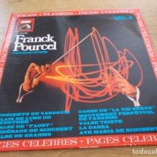 Discos de vinilo: FRANCK POURCEL Y SU GRAN ORQUESTA. PAGES CELEBRES. Lote 96749007
