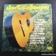 Discos de vinilo: LP JOSE LUIS CAMPOY, GM GRAMUSIC GM-397 1975, LOS PICONEROS, 24000, FLOR DE PASION, VINILO. Lote 96749719