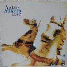 Discos de vinilo: AZTEC CAMERA - LOVE (LP WEA 1987 ESPAÑA). Lote 96755507