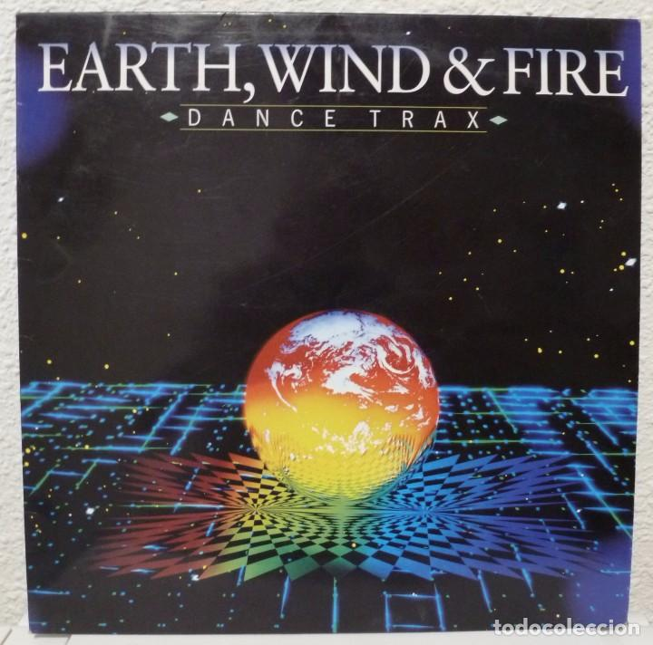 EARTH, WIND & FIRE - DANCE TRAX (LP CBS 1988 ESPAÑA) (Música - Discos - LP Vinilo - Pop - Rock - New Wave Extranjero de los 80)