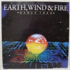 Discos de vinilo: EARTH, WIND & FIRE - DANCE TRAX (LP CBS 1988 ESPAÑA). Lote 96755615