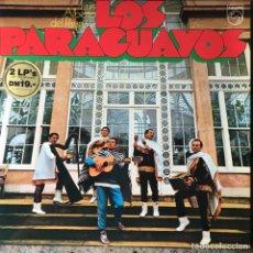 Discos de vinilo: LUIS ALBERTO DEL PARANA Y LOS PARAGUAYOS - DOBLE LP . GERMANY. Lote 96761155