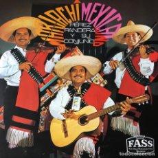 Discos de vinilo: PÉREZ PANDERA Y SU CONJUNTO - MARIACHI MEXICANO . LP . GERMANY. Lote 96762071
