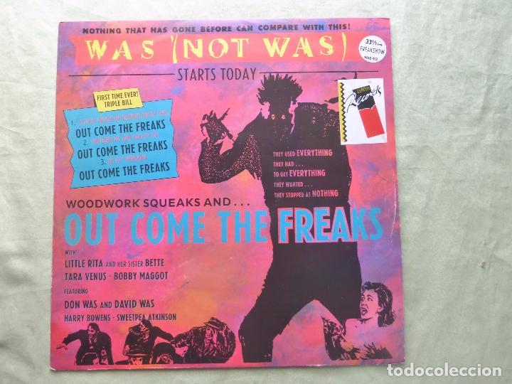 WAS (NOT WAS). OUT COME THE FREAKS. FONTANA, 1988. UK. EP VINILO (Música - Discos de Vinilo - EPs - Electrónica, Avantgarde y Experimental)