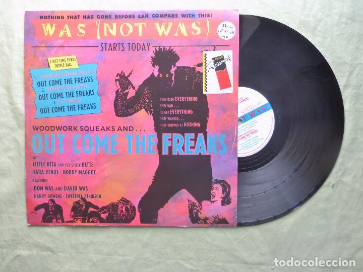 Discos de vinilo: WAS (NOT WAS). OUT COME THE FREAKS. FONTANA, 1988. UK. EP VINILO - Foto 3 - 96773287