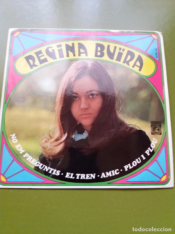 EP ** REGINA BUIRA ** AMIC..** COVER / NEAR MINT (NM) ** EP / MINT (M)** 1968 (Música - Discos de Vinilo - Maxi Singles - Solistas Españoles de los 50 y 60)