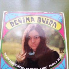 Discos de vinilo: EP ** REGINA BUIRA ** AMIC..** COVER / NEAR MINT (NM) ** EP / MINT (M)** 1968. Lote 96774735