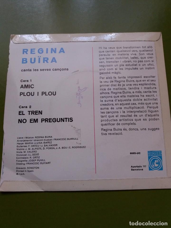 Discos de vinilo: EP ** REGINA BUIRA ** AMIC..** COVER / NEAR MINT (NM) ** EP / MINT (M)** 1968 - Foto 2 - 96774735