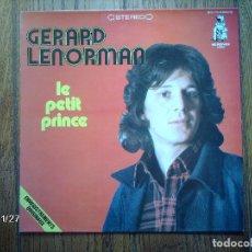 Discos de vinilo: GERARD LENORMAN - LE PETIT PRINCE . Lote 96774875